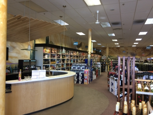 Decor Valances with LED Display Lighting – Triphammer Wines and Spirits