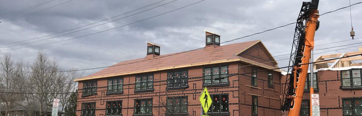 Ithaca Apartment Building Build